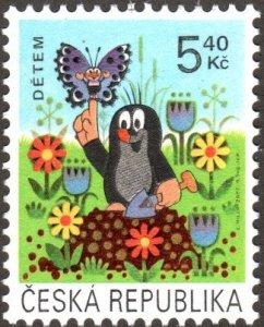 Czech Republic 3172 - Mint-NH - 5.40k Int'l Children's Day (2002) (cv $0.60)