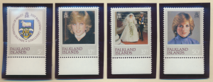 Falkland Islands Stamps Scott #348 To 351, Mint Never Hinged - Free U.S. Ship...