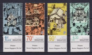 Singapore 2019 Early Forms of Street Story Telling in Singapore  (MNH)  -