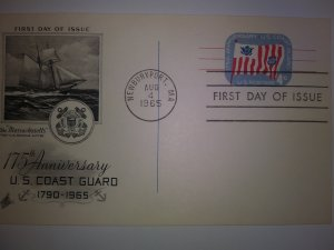 SCOTT # UX52 EIGHT CENTS POST CARD AIR MAIL FIRST DAY OF ISSUE  1967