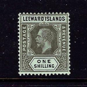 Leeward Is 54 MLH 1912 issue number penciled on gum