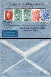 Goldpath: Greece cover 1930, to Germany   _CV23_P8