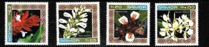 Samoa-Sc#1024-7-Unused NH set-Ginger Flowers-2002-