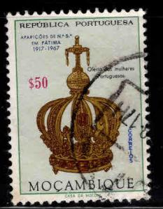 Mozambique Scott 480 Used crown stamp