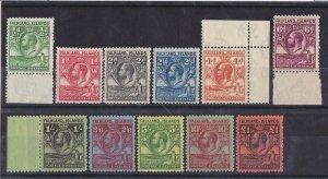 FALKLAND ISLANDS 1929 KGV Whale & Penguin set ½d - £1 MNH ** RARE!