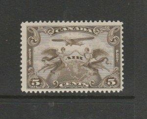 Canada 1930 5c Air stamp MM SG 310