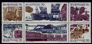Sweden SC#866a MLH VF SCV$12.00...Worth a Close Look!