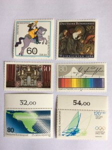 German selection of MNH stamps