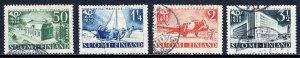 Finland - Scott #215-218 - Used - Hinge bumps #215, 216 - SCV $16