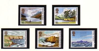 Great Britain Sc 1981 50th Anniv National Trust Scotland stamps mint NH