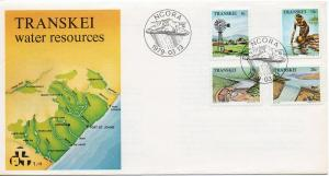 Transkei   Scott  58-61  First Day Cover