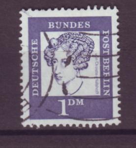 J20710 Jlstamps 1961-2 berlin germany used #9n189 woman