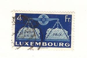 Luxembourg, 277, United Europe Single, Used