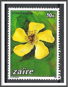 Zaire #1146 Flowers MNH