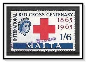 Malta #293 Red Cross Centenary Used