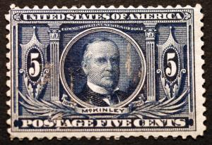 #326 5c Dark Blue1904  *MNH* CV $240