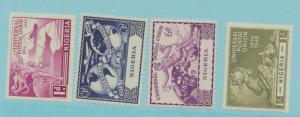 Nigeria Scott #75 To 78, Four Stamp UPU (Universal Postal Union) Complete Set...
