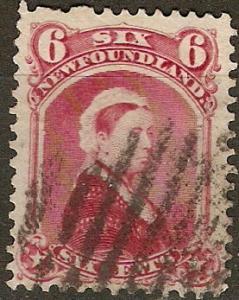 Newfoundland 36 SG 60 Used F/VF 1894 SCV $22.50