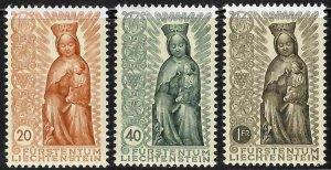 Liechtenstein #284 to 286 + 329 to 331 Mint VF NH -- Choice set