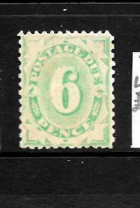 AUSTRALIA  1902-04   6d  POSTAGE DUE  MNG   SG D40