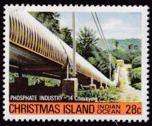 Christmas Island #108 Mint