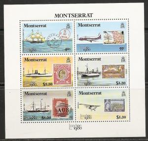 Montserrat 419a 1980 LONDON 1980 s.s. MNH