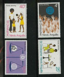 St. Kitts-Nevis 286-289 Mint VF NH (288 th)