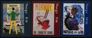 Norway 1374-6 MNH Poster Art, EUROPA
