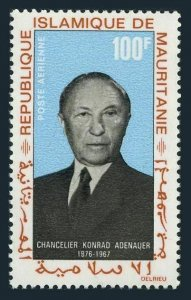 Mauritania C71,MNH.Michel 333. Konrad Adenauer,chancellor of Germany,1968.