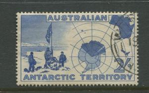 Antarctic Terr. #L4  Used  1957  Single 2/- Stamp