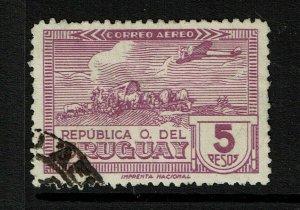 Uruguay SC# C103 Used / Hinge Rem - S11984