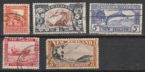 #188-9,192-3,198 New Zealand Used