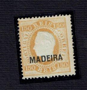 Madeira 1879/1880 D. Luis I RARE RARE dent 13 1/2 MNG #29 CV 500.00€