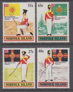 Norfolk Island 302-305 MNH VF
