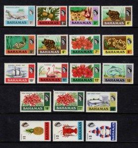 1971 Bahamas Elizabeth II Definitives Partial Set