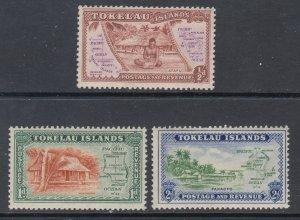 Tokelau 1-3 MNH VF