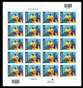 Kwanzaa Celebration Sheet of Twenty 37 Cent Postage Stamps Scott 3673