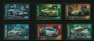 Guernsey: 2006 Andy Priaux Motor Racing Victories, MNH set