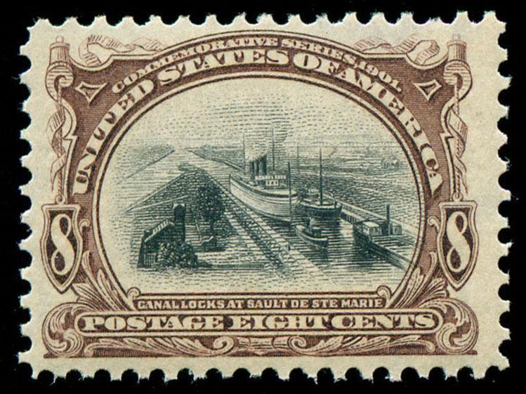 momen: US Stamps #298 Mint OG VF/XF