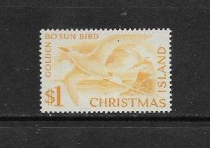 BIRD - CHRISTMAS ISLAND #20 BO'SUN BIRD  MLH