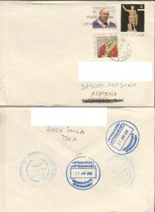 VATICAN POPE COVER TO ARTSAKH KARABAKH ARMENIA R2021505