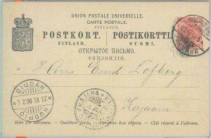 81911 - FINLAND - Postal History -  STATIONERY CARD 1900