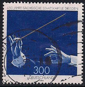 Germany 2022 Used - ‭Saxony State Orchestra, Dresden, 450th Anniversary