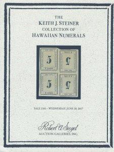 Hawaiian Numerals, Robert A. Siegel, Sale 1161, June 28, 2017, Catalog