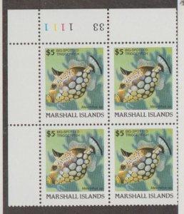 Marshall Islands Scott #183 Stamps - Mint NH Plate Block