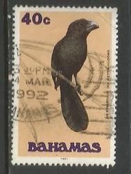 BAHAMAS 715 VFU BIRD R13-134-9