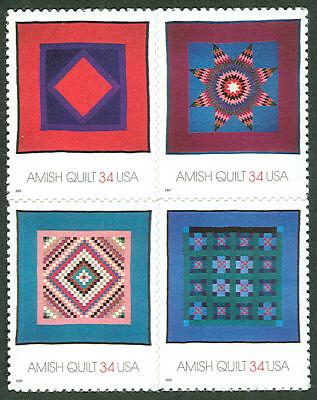 US #3524-7 Amish Quilts, Sheet of 20