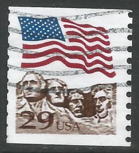 UNITED STATES 2523 VFU FLAG T643-1