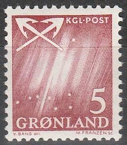Greenland #49  MNH  (S4480)