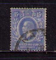 EAST AFRICA UGANDA PROT Sc#  45 USED FVF King George V KGV